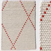 Carpet Hay Dot carpet Poppy Red rug