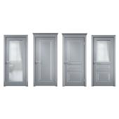 """Lavan. Interior doors. Series """"Milled Y""""."""