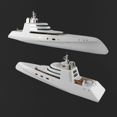 Luxury Motor Yacht A