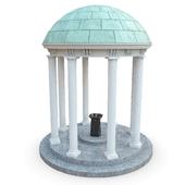 Беседка с питьевым фонтаном