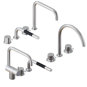VOLA Kitchen Mixer & Hand Shower Set01