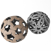 spherical decorations