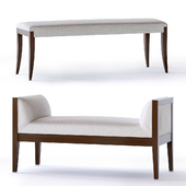 Baker Atelier and 20th Century bench