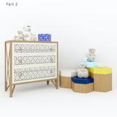 Children furniture nicola bacci tiramisu (part2)