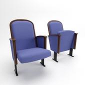 Кресло театральное 3d модель