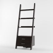 Monarch 69 in. Ladder Bookcase