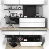 TV stand set 04