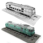 Pafawag 201E ET 22 Train
