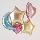 Фольгированные гелиевые шарики