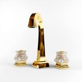 Golden faucet