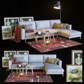 Hülsta + IKEA, Sofa set