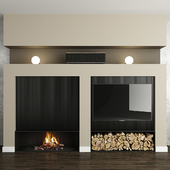 Fireplace and decor 27