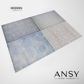Carpets ANSY Carpet Company collection MODERN (part.1)