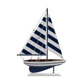 Fruitland Striped Pacific Sailer Model Yacht
