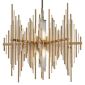 Corbett Lighting 238-42 Gold Leaf