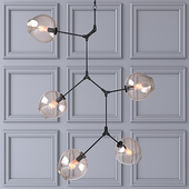 Потолочный светильник Branching Bubbles 5 ламп