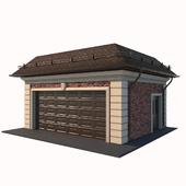 Garage for 2 cars