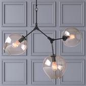 Потолочный светильник Branching Bubbles 3 лампы