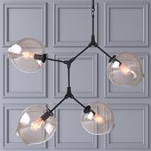 Потолочный светильник Branching Bubbles 4 лампы