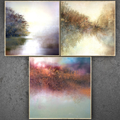 Paintings abstract   set 199