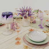 Provence tableware
