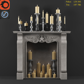 Decorative Fireplace 2