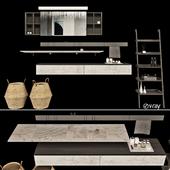 Комплект мебели для ванной_agape