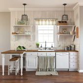"""Kitchen in the style of """"Provence"""""""