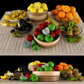 Collection of fruits / Collection of fruits