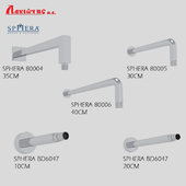Showerhead arms set