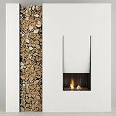 Fireplace and firewood Antoniolupi