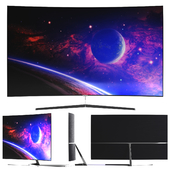 TV Samsung Premium UHD 4K Curved Smart TV MU9000 Series 9