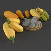Zucchini set