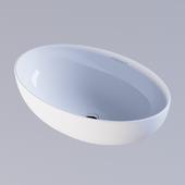 Washbasin Sanita Luxe Ringo Slim
