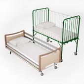 Амбулаторная кровать, взрослая, детская.