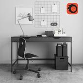 model ikea workspace
