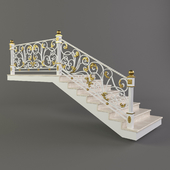Forged stairs 2