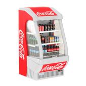 Outdoor refrigerator Coca-cola