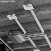Потолочная система вентиляции