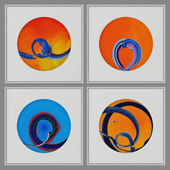 Abstract paintings set_10