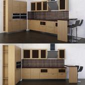 kitchen set Effet-oak (ADM)