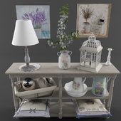 Decorative set Provence