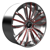 Disk Forgiato Montare-ECL Wheel 3D model