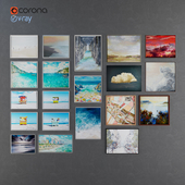 Collection of modern paintings horchow - 5