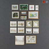 Collection of modern paintings horchow - 10
