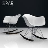 Eames Rar plastic side chairs