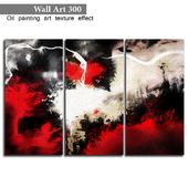 300 paintings