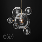 Giopato & Coombes BOLLE 6 bubble CLEAR/GOLD