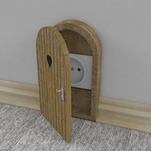 power outlet shield