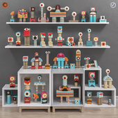 Toys and furniture set 30